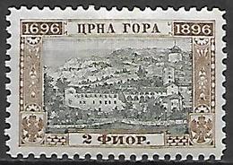 MONTENEGRO    -    1896.    Y&T N° 41 * - Montenegro