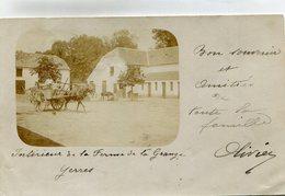 YERRES(FERME) CARTE PHOTO - Yerres