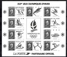 France Bloc-feuillet YT N° 14b Non Dentelé Noir Neuf ** MNH. TB. A Saisir! - Sheetlets