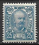 MONTENEGRO    -    1902.    Y&T N° 53 * - Montenegro