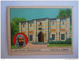 Colonies Françaises Syrie Et Liban Format 7 X 5 Cm  Librairie D'éducation Nationale Paris - Autres