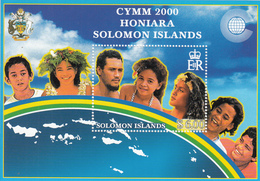 2000 Solomon Islands Commonwealth Youth Ministers Meeting  Souvenir Sheet Of 1 MNH - Salomoninseln (Salomonen 1978-...)