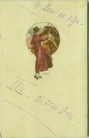 SANTINO SIGNED POSTCARD - 1920s - WOMAN & HORSE - N.211 (BG1193) - Illustrateurs & Photographes