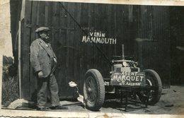 Photo De M Marquet Garage Auto à St Aignan Sur Cher Inventeur Du Vérin Mammouth En Photo - Lieux
