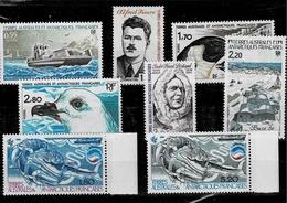 Lot De 8 Timbres Neufs Sans Charnière Entre Les N° 95 Et 114 - Franse Zuidelijke En Antarctische Gebieden (TAAF)