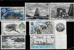 Lot De 7 Timbres Neufs Sans Charnière Entre Les N° PA 45 Et 75 - Franse Zuidelijke En Antarctische Gebieden (TAAF)