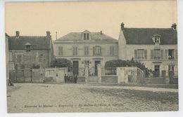 Environs De Meulan - ECQUEVILLY - La Mairie Et L'Ecole De Garçons - France