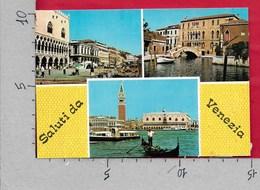 CARTOLINA NV ITALIA - Saluti Da VENEZIA - Vedutine Multivue - 10 X 15 - Saluti Da.../ Gruss Aus...