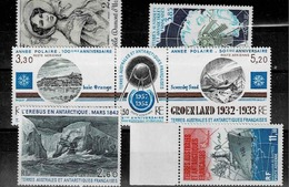 Lot De 6 Timbres Neufs Sans Charnière Entre Les N° PA 68 Et 84 - French Southern And Antarctic Territories (TAAF)