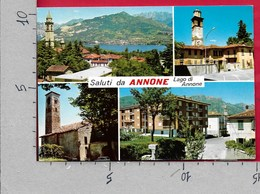 CARTOLINA NV ITALIA - Saluti Da ANNONE - Il Lago - Vedutine Multivue - 10 X 15 - Saluti Da.../ Gruss Aus...