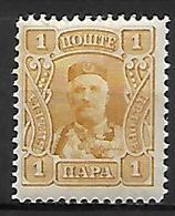 MONTENEGRO    -    1907.    Y&T N° 76 * - Montenegro