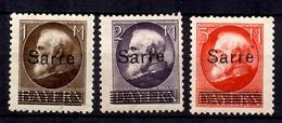 Sarre YT N° 27/29 Neufs *. B/TB. A Saisir! - 1920-35 League Of Nations