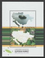 BLOC NEUF DE SLOVENIE - 9E RENCONTRE DES PRESIDENTS DES ETATS D'EUROPE CENTRALE N° Y&T BF 14 - Slovénie