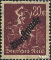 Deutsches Reich D75Y Liegendes Wasserzeichen Postfrisch 1923 Dienstmarken - Allemagne
