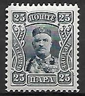 MONTENEGRO    -    1907.    Y&T N° 82 * - Montenegro