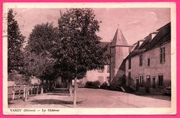 Varzy - Le Château - Eglise - 1948 - Oblit. VARZY Sur 1,50f Type Marianne - Frankrijk