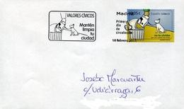 39690 Spain, Fdc  2011  Dog,  Chien, Hund - Hunde