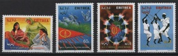 Eritrea (2001) Yv. 429/32  /  Independency - Independance - Flags - Eritrea