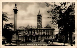 ROMA - Piazza E Basilica Di S. Maria Maggiore - Piazze