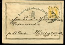 HANDGESCHREVEN  CORRESPONDENZ-KARTE * OOSTENRIJK * OSTERREICH * AUSTRIA Gelopen In 1870 (11.453v) - 1850-1918 Empire