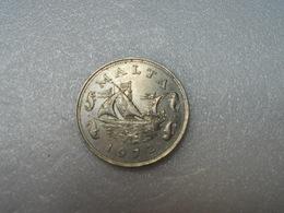 Malte, 10 Cents, 1972, British Royal Mint, Copper-nickel, - Malta