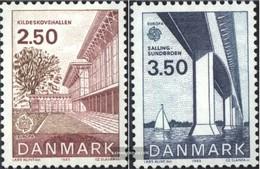 Dänemark 781-782 (completa Edizione) Usato 1983 Opere Di Umana Spirito - Usado