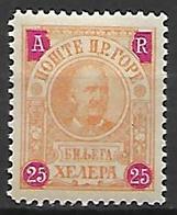 MONTENEGRO    -    Accusé De Réception   -   1902.    Y&T N° 2 * - Montenegro