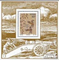 Südafrika - Venda Block7 (kompl.Ausg.) Postfrisch 1991 Epochale Erfindungen - Venda