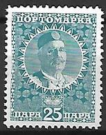 MONTENEGRO    -    Timbre - Taxe   -   1913.    Y&T N° 26 * - Montenegro