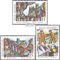 Belgien 2561-2563 (kompl.Ausg.) Postfrisch 1993 Folklore - Ungebraucht