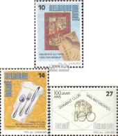 Belgien 2497-2499 (kompl.Ausg.) Postfrisch 1992 Berufe - Belgien