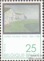 Belgien 2469 (kompl.Ausg.) Postfrisch 1991 Alfred Wilhelm Finch - Belgien