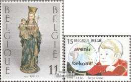 Belgien 2582,2583 (kompl.Ausg.) Postfrisch 1993 Weihnachten, Kinder - Belgien
