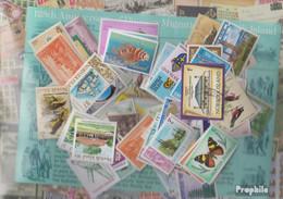 Norfolk-Insel Briefmarken-100 Verschiedene Marken - Norfolk Island