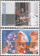 Belgien 2474-2475 (kompl.Ausg.) Postfrisch 1991 Ärzte Ohne Grenzen - Ungebraucht