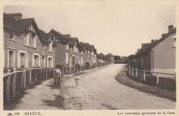 Bayeux -les Nouveaux Quartiers De La Gare - Scan Recto-verso - Bayeux