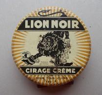Boite Métal. Cirage. Cirage Crème Lion Noir - - Boxes