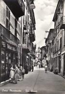 CAIRO MONTENOTTE-SAVONA-INSEGNA=SALI E TABACCHI=-VIA ROMA-CARTOLINA VERA FOTOGRAFIA VIAGGIATA IL 8-8-1962 - Savona