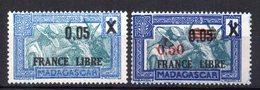 Col10    Madagascar  N° 240 & 241 Neuf X MH Cote : 2,00 Euro Cote 2015 - Madagascar (1889-1960)