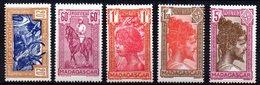 Col10    Madagascar  N° 279 à 283 Neuf X MH Cote : 8,50 Euro Cote 2015 - Madagascar (1889-1960)