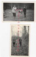 CHASSE En 1956 ,et 1964-prise De Chasseurs-chevreuils- Lèvres--chasseurs Avignant Et Brunet - Other