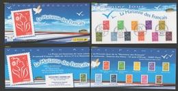 FRANCE 2005 1er Jour Marianne De Lamouche N°  3731 3732 3733 3734 3735 3736 3737 3738 3739 3740 3741 /  8 Janvier - 2004-08 Marianne De Lamouche