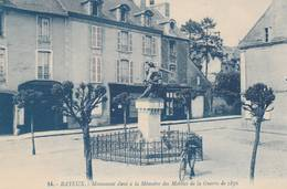 Bayeux - Monument Des Mobiles De La Guerre De 1870 - Scan Recto-verso - Bayeux