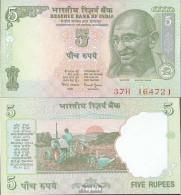 Indien Pick-Nr: 88A C, Letter R Bankfrisch 2002 5 Rupees - Indien