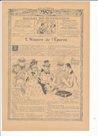 4 Scans Presse 1903 Humour Chemin De Fer Train Station D'Auteuil Gare ... Courcelles-Levallois Charles Quinel 223CH6 - Ohne Zuordnung