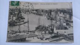 59 - DUNKERQUE - PANORAMA DU BASSIN DU COMMERCE - CPA ECRITE ANNEES 10 ANIMEE - BON ETAT - Dunkerque