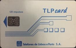 Paco \ PORTOGALLO \ LP29 \ TLP Card Branco 120 (ST N) \ Usata - Portogallo