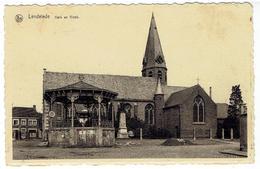 LENDELEDE - Kerk En Kiosk - St Antonius Drukkerij Lendelede - Lendelede