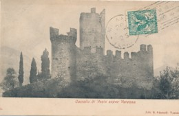 U.682.  Lago Di Como - Castello Di Vezio Sopra VARENNA - 1906 - Italia