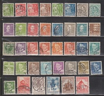DENMARK Lot Of Used Stamps - Nice Mix - Lotes & Colecciones